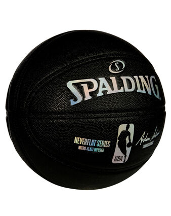 Spalding® NBA NeverFlat® Game Ball Replica Series Basketball - Black