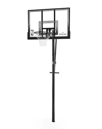 "48"" Polycarbonate In-Ground Basketball Hoop"