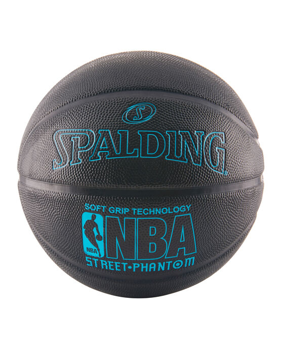 NBA Street Phantom Black and Neon Blue Outdoor Basketball
