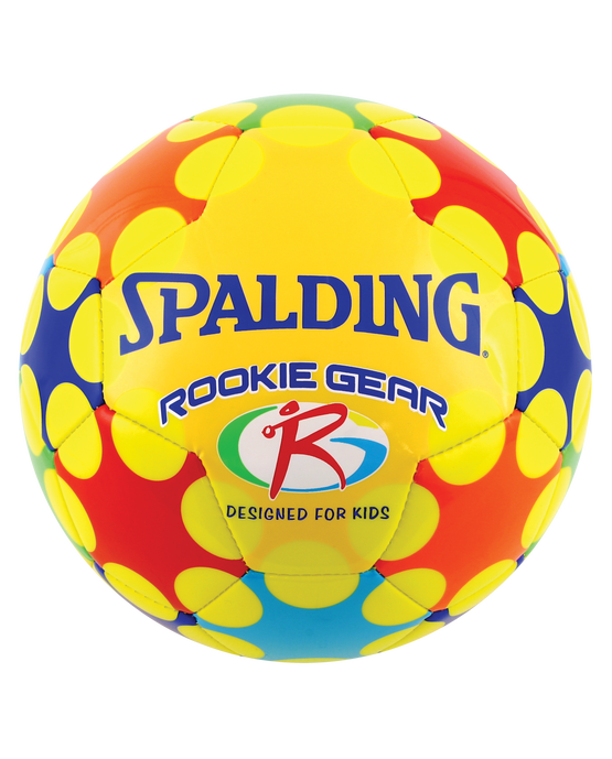 SPALDING ROOKIE GEAR® SOCCER BALL Yellow