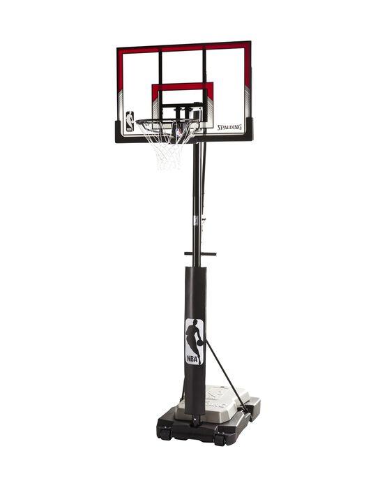 "Ultimate Hybrid Jr.® 44"" Acrylic Portable Basketball Hoop"
