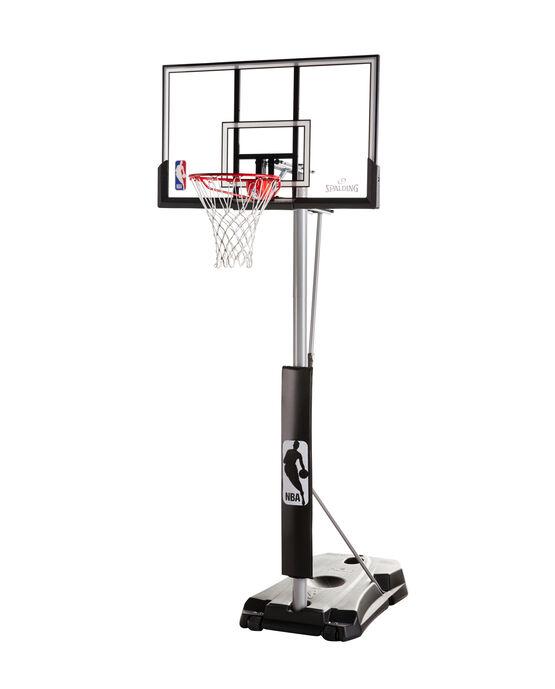 """Hercules® 52"""" Acrylic Advanced Portable Basketball Hoop Black"""