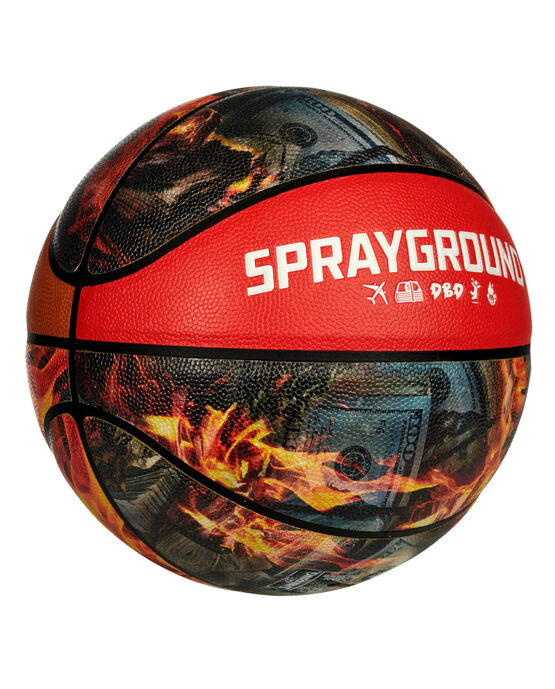 Spalding® x Sprayground 94 Series Fire Money Basketball