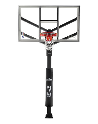 Arena View® H Series Glass In-Ground Basketball Hoop