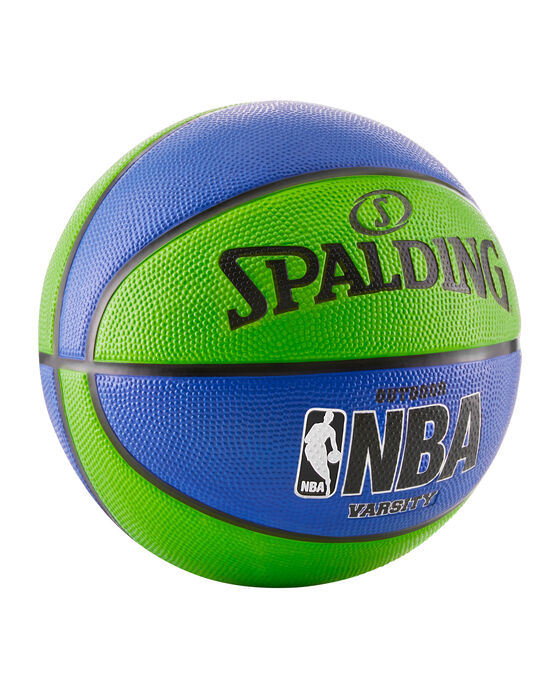 NBA Varsity Multi-Color Outdoor Basketball -  Blue & Green blue/green
