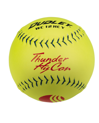 USSSA THUNDER HYCON CLASSIC-PLUS STAMP SLOWPITCH SOFTBALL - 12 PACK