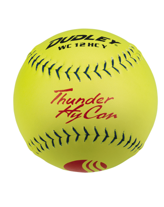"""12"""" USSSA THUNDER HYCON CLASSIC-PLUS STAMP SLOWPITCH SOFTBALL - 12 PACK"""