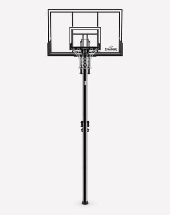 """52"""" Acrylic AccuGlide® In-ground Basketball Hoop"""