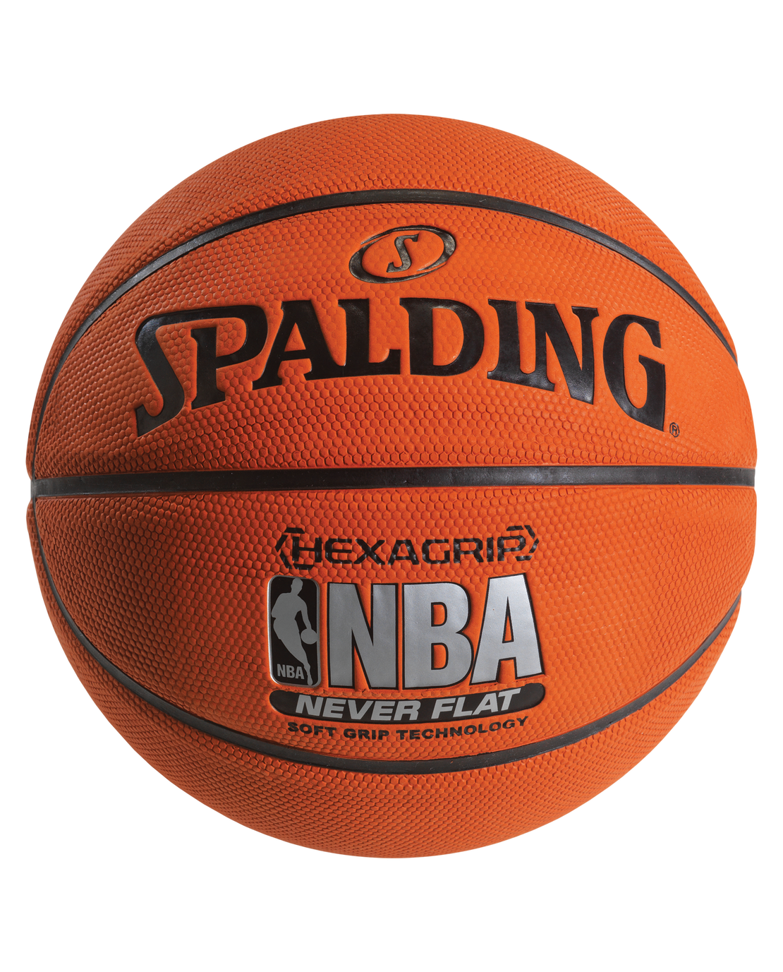 Neverflat hexagrip basketball spalding us - Spalding basketball images ...