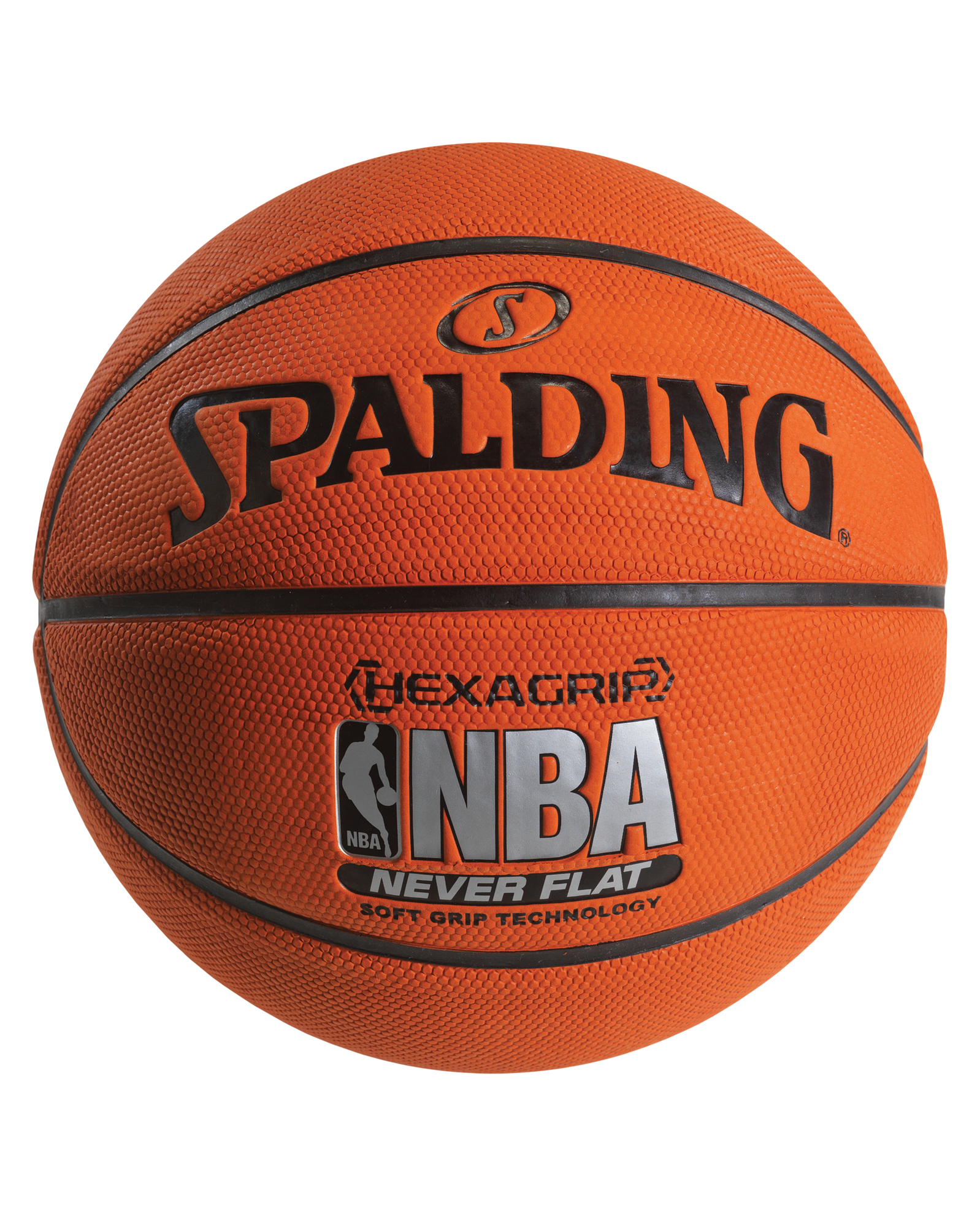 NEVERFLAT® HEXAGRIP BASKETBALL - Spalding US