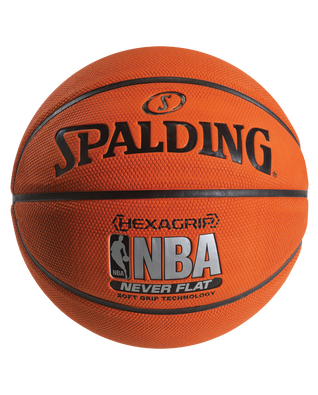 NBA Neverflat® Hexagrip™ Basketball