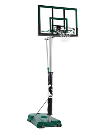 "Hercules® 52"" Acrylic Advanced Portable Basketball Hoop"