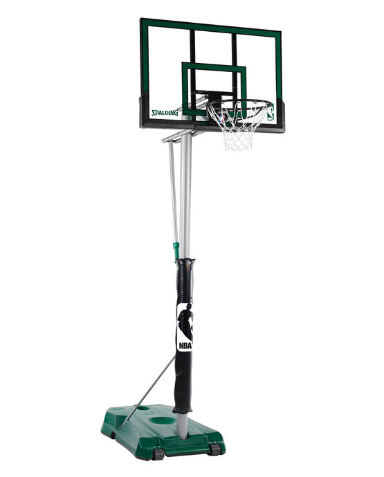 "Hercules® 52"" Acrylic Advanced Portable Basketball Hoop Green"