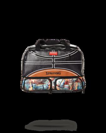 Sprayground  x Spalding 94 Series Fire Money Sneaker Duffle Bag