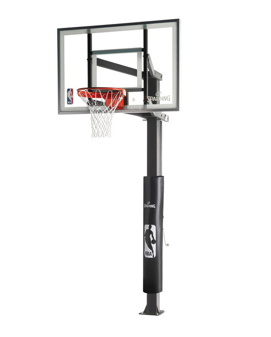 """888™"" Series 54"" Glass In-Ground Basketball Hoop"