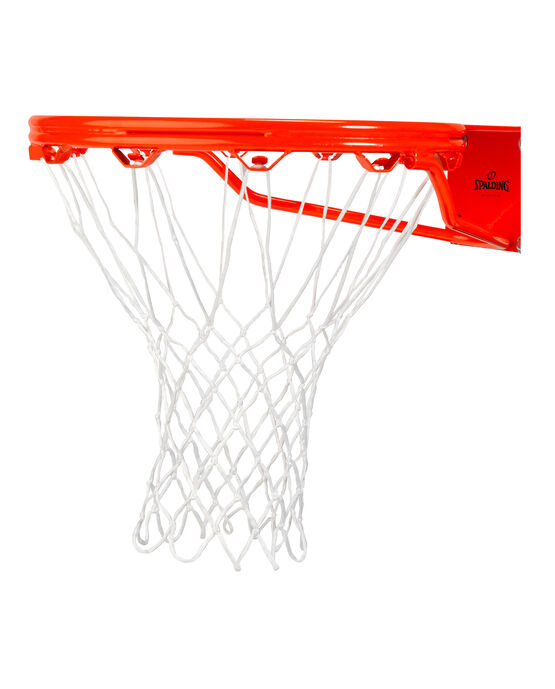 ALL WEATHER BASKETBALL NET - WHITE white