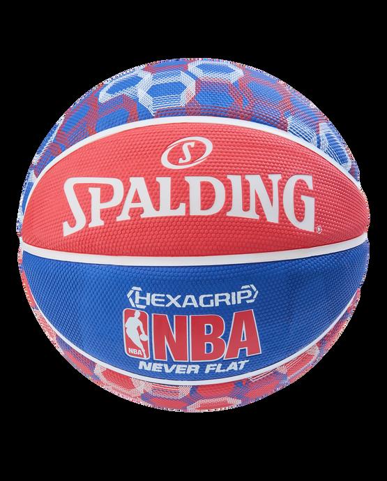 NEVERFLAT® HEXAGRIP BASKETBALL Red/White/Blue