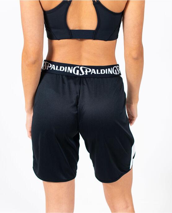 Women's Basketball Short Black/White XL BLACK/WHITE