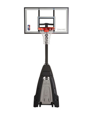 The Beast® Glass Portable Basketball Hoop