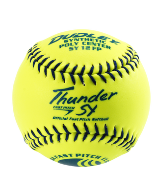 "12"" USSSA THUNDER SY FASTPITCH SOFTBALL - 12 PACK"