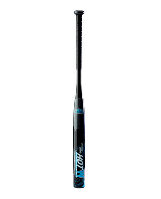 "Lightning Legend HotW 12"" Barrel Senior Slowpitch Softball Bat - Black/Blue"