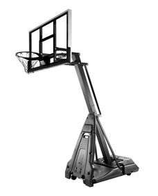 """Limited Edition All-Black The Beast® 60"""" Glass Portable Basketball Hoop"""