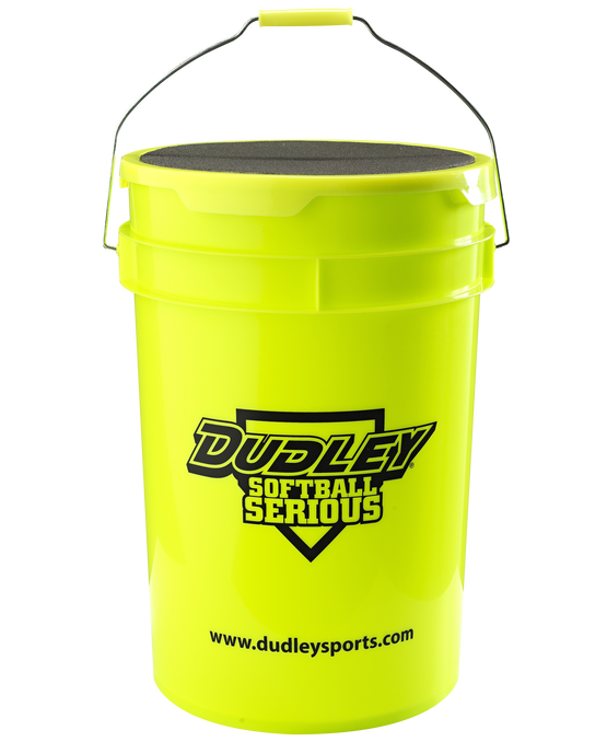 6 Gallon Dudley Softball Bucket With Padded Lid