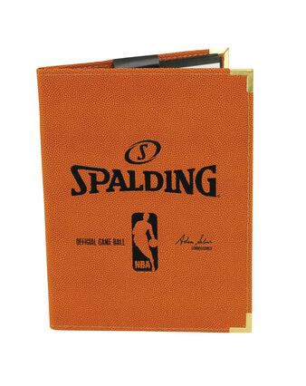 ORANGE NBA PAD HOLDER