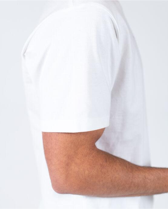 Men's Logo Short Sleeve Tee White Small WHITE