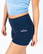 """Women's 3"""" Cotton Gym Short Navy Blazer XS NAVY BLAZER"""