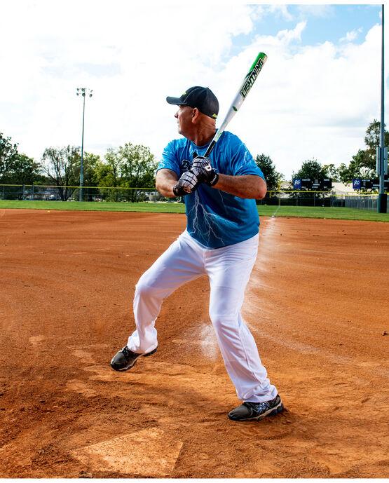 Lightning Legend Lift 27 ounce Senior Softball Bat - White/Green