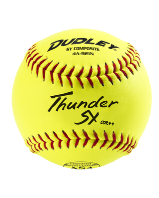 ASA THUNDER SLOWPITCH SOFTBALL - 12 PACK
