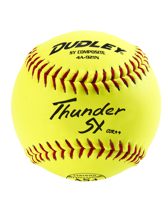"12"" ASA THUNDER SLOWPITCH SOFTBALL - 12 PACK"