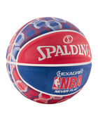 NBA Neverflat® Hexagrip™ Red, White and Blue Basketball red/white/blue