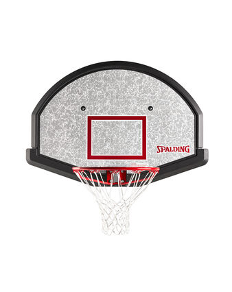 "48"" Eco-Composite Basketball Fan Backboard & Slam Jam Rim Combo"