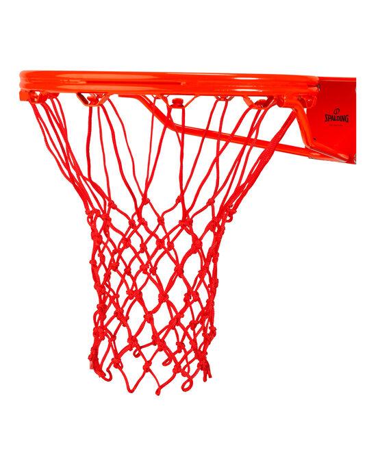 HEAVY DUTY BASKETBALL NET - RED red