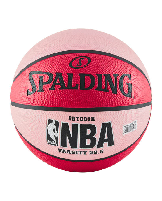 """NBA Varsity Multi-Color Outdoor Basketball - 28.5"""" - Red and Pink red/pink"""