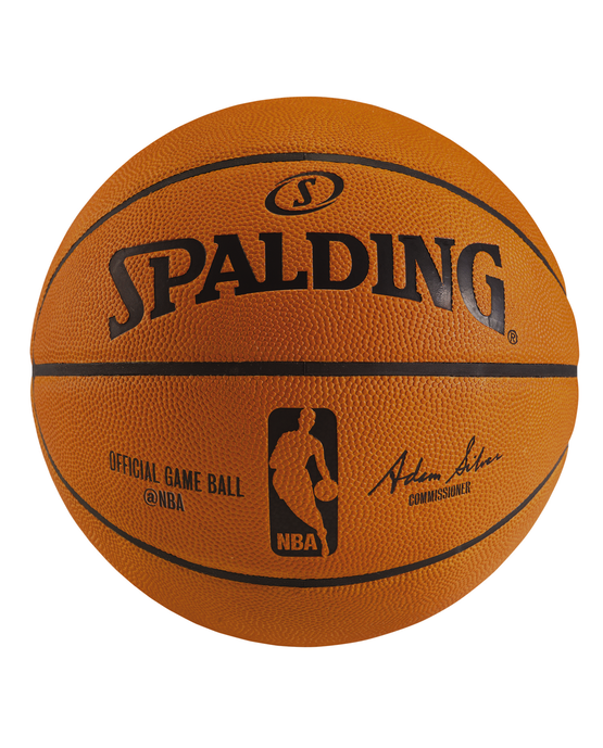 nba official game ball spalding