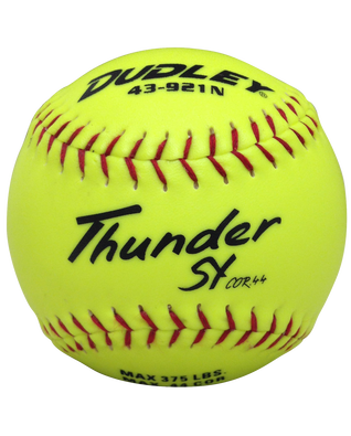 NON-ASSOCIATION THUNDER SY SLOWPITCH SOFTBALL - 12 PACK