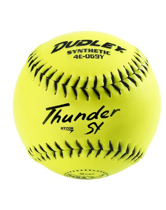 NSA THUNDER HYCON SLOWPITCH SOFTBALL - 12 PACK