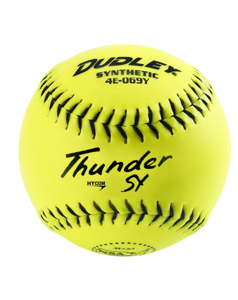 "12"" NSA THUNDER HYCON SLOWPITCH SOFTBALL - 12 PACK"
