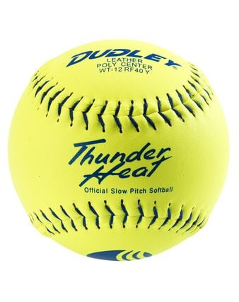 "12"" USSSA THUNDER HEAT® CLASSIC-M STAMP SLOWPITCH SOFTBALL - 12 PACK"