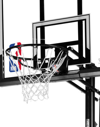 "ACCUGLIDE™ 52"" Acrylic Portable Basketball Hoop"