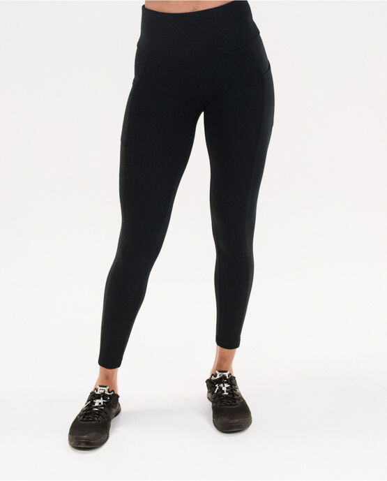 Women's 25.5 Legging with Pockets Black Large BLACK