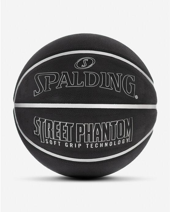 "Street Phantom Silver and Black Outdoor Basketball 29.5"" Silver/Black"