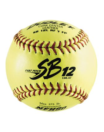 "12"" NFHS SB 12 FASTPITCH SOFTBALL - 12 Pack"