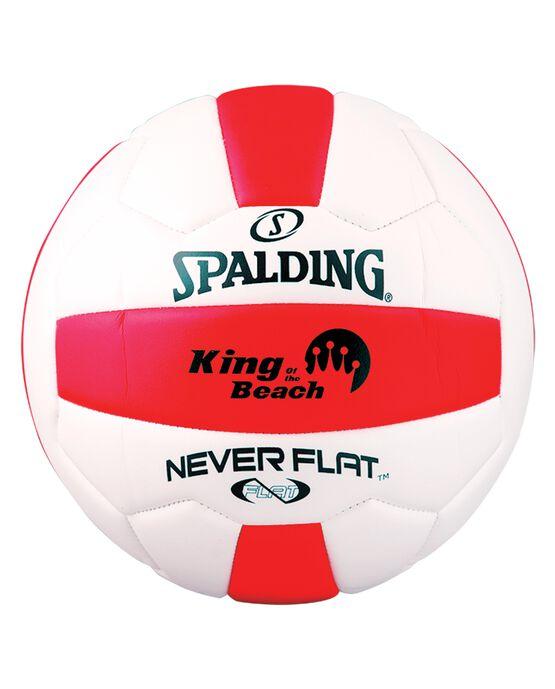 NEVERFLAT® EVA VOLLEYBALL Red/White