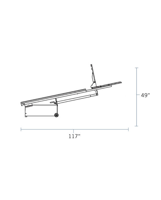 "Fastbreak 930™ 48"" Acrylic Portable Basketball Hoop"
