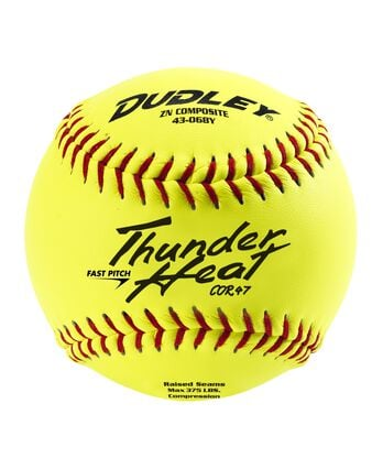 "12"" NON-ASSOCIATION THUNDERHEAT FASTPITCH SOFTBALL - 12 PACK"