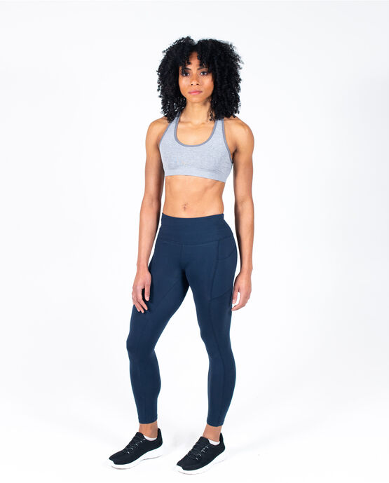 "Women's 25.5"" Legging with Pockets Navy Large NAVY BLAZER"